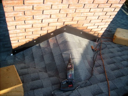 Townsend Roofing Chimney Flashing Repair